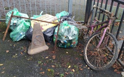 Canal litter pick on 25th January